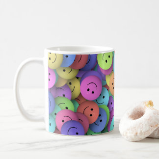 Smiley Face Mug Stein Travel Mug