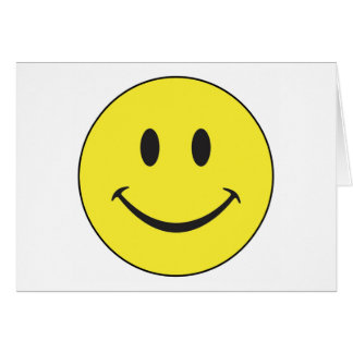 Smiley Face Note Card