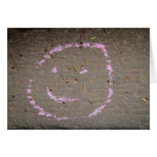 Smiley Face Notecard