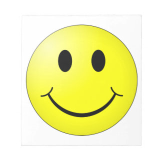 Smiley Face Notepad