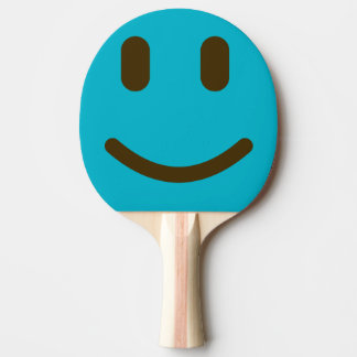 Smiley Face Ping Pong Paddle
