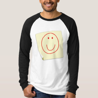 Smiley Face Post It Note T-Shirt