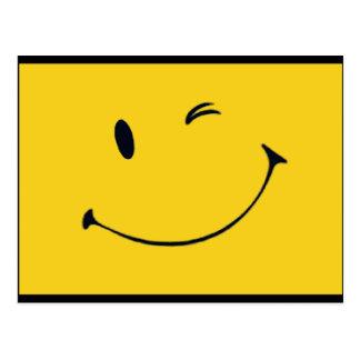 Smiley Face Postcard