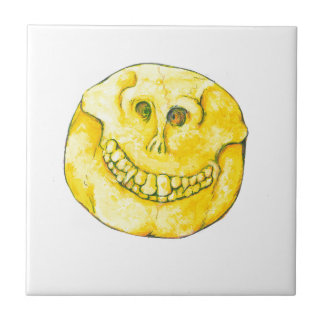 Smiley Face Skull Ceramic Tiles