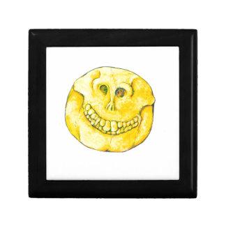 Smiley Face Skull Gift Box