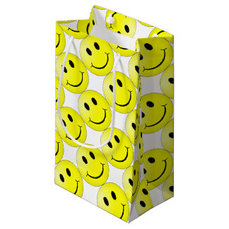 Smiley Face Small Gift Bag