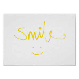 Smiley Face Smile (Poster) Poster