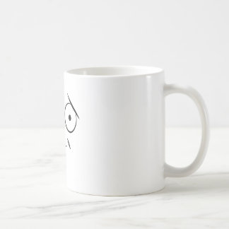 Smiley face sticking tongue out. Raspberry face Coffee Mug