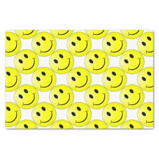 Smiley Face Tissue Paper