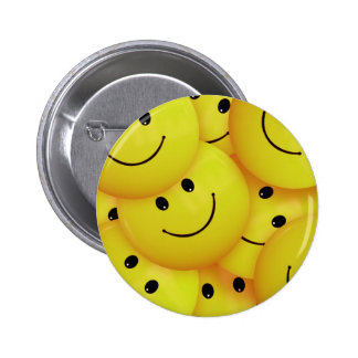 Smiley Faces Everywhere 2 Inch Round Button