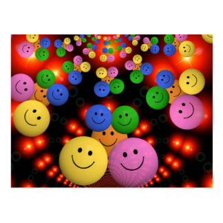 Smiley Faces Jamboree Postcard