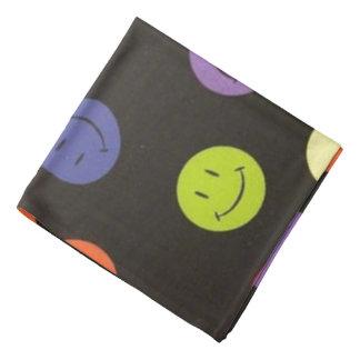 Smiley Faces - Multi-colored Bandana
