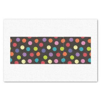 Smiley Faces - Multi-colored Tissue Paper