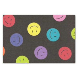 Smiley Faces - Multi-colored Tissue Paper