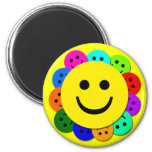 SMILEY FACES REFRIGERATOR MAGNETS