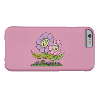 Smiley Flowers Barely There iPhone 6 Case