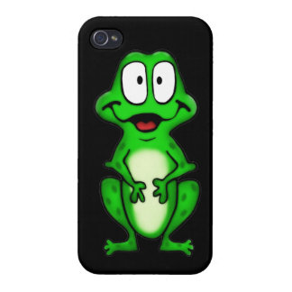 Smiley Frog Cases For iPhone 4