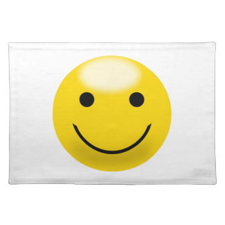 Smiley Happiness Face Placemats