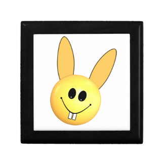 Smiley happy bunny for Easter Gift Box