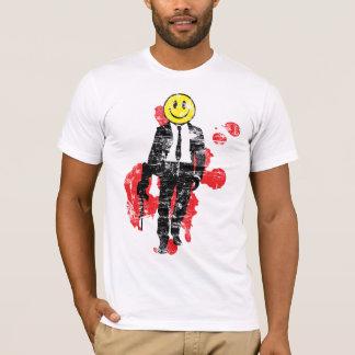 Smiley Hitman (Distressed) T-Shirt