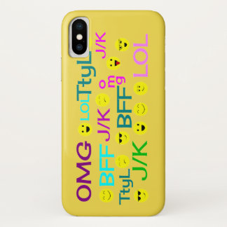 Smiley Kid Talk iPhone X Case