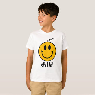 Smiley Kids Family Couple T-Shirt
