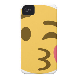 Smiley KIS Emoji iPhone 4 Case-Mate Cases