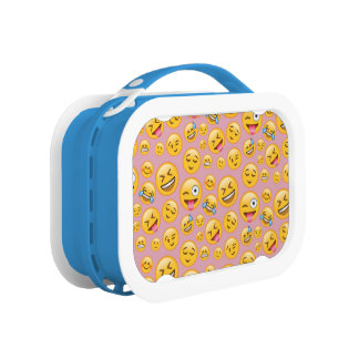 Smiley Laugh Out Loud (lol) Emoji Pattern Lunchboxes