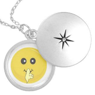 Smiley locket