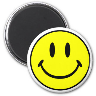 Smiley Magnet