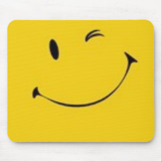 smiley mousepad