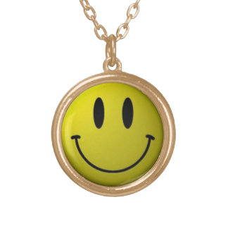 Smiley Neclace Gold Plated Necklace