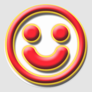 Smiley No. 1 Classic Round Sticker