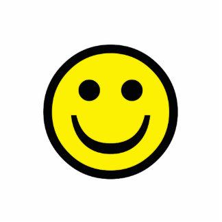 Smiley Photo Sculpture Keychain