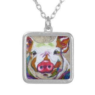 Smiley Piggy Necklace