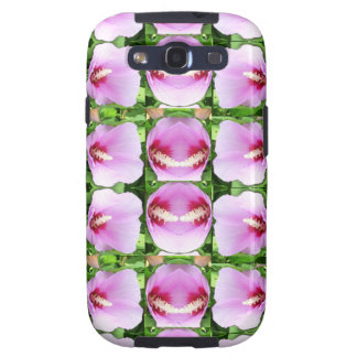 SMILEY Pink Lilly Lily Flowers TEMPLATE Resellers Galaxy S3 Covers