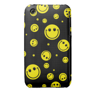 Smiley Polka Dots iPhone 3 Covers