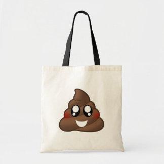Smiley Poop Emoji Tote Bag