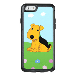 Smiley Puppy in Field OtterBox  iPhone 6/6s Case