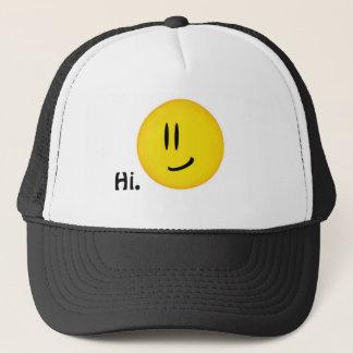 """Smiley says Hi."" Hat"