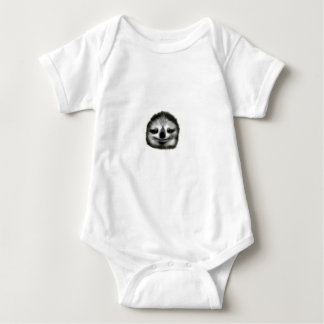 smiley sloth baby bodysuit