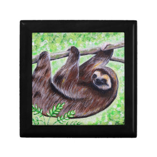 Smiley Sloth Painting Gift Box