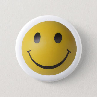 Smiley Smart Expression Smilie 2 Inch Round Button
