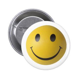 Smiley Smart Expression Smilie 2 Inch Round Button