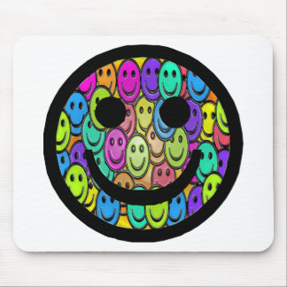 Smiley Smiles Mouse Pad