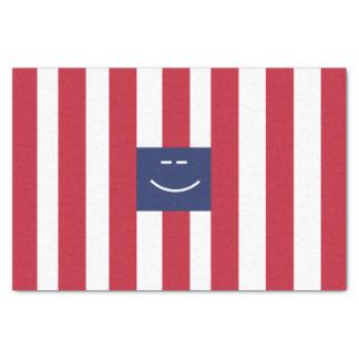 Smiley Square Tissue Paper