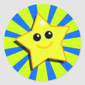 SMILEY STAR Sticker