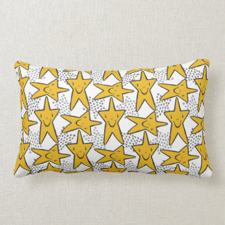 Smiley Stars throw pillows