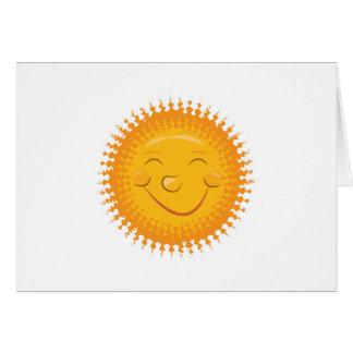 Smiley Sun Card