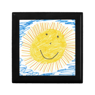 SMILEY SUN KIDS DRAWING GIFT BOX